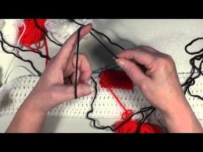Crochet Lady Bug Graph in DC - Part #4