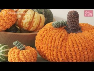 Crochet Large Pumpkin Tutorial
