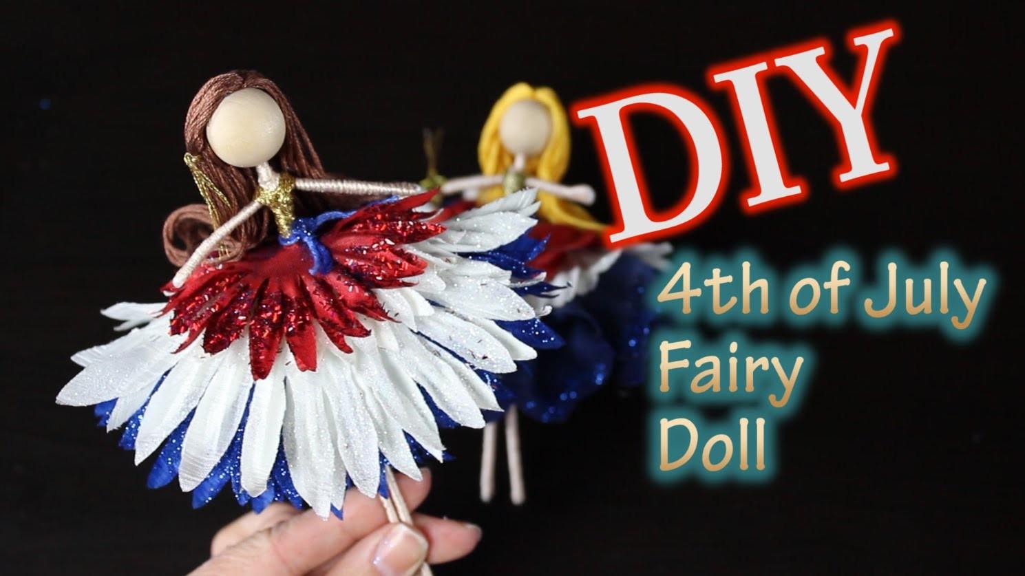 DIY 4th of July Fairy Doll