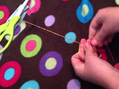DIY: How To Make A Braided Anklet!!