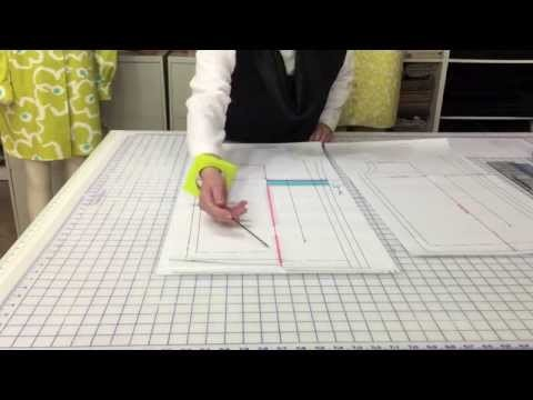 How To: Add width and length to a garment withouta dart.