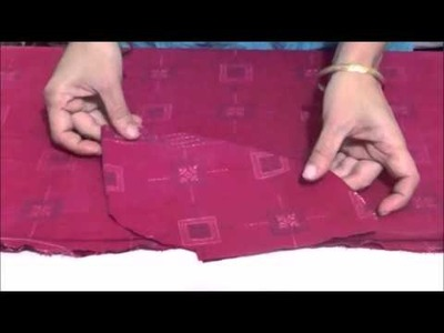 How to attach a Side-Pocket to your Kurti.Kameez