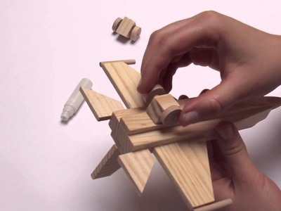 How to Build a Wood WorX Jet Fighter - Attitude at Altitude!