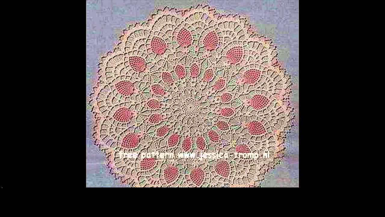 How to crochet a doilies