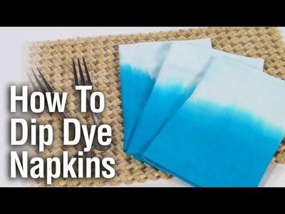 How To Dip Dye