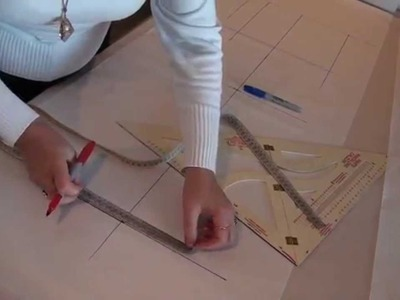 How to draft a pants back, very easy