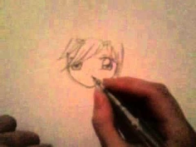 How to draw a cute manga girl easy Step by Step!