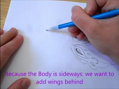 How to draw butterfly.fairy wings