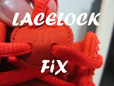 [HOW TO] FIX THE YEEZY 2 LACELOCK - Yeezy 2 Red October