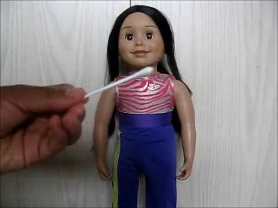 How to get rid of your dolls black splotches + Announcement