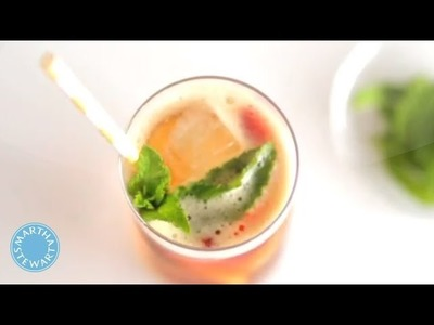 How to Make a Pimm's Cup - Martha Stewart