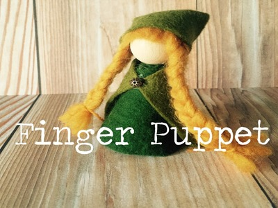 How to Make a Simple Finger Puppet Tutorial