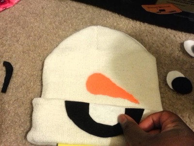 How to Make an Olaf Hat!