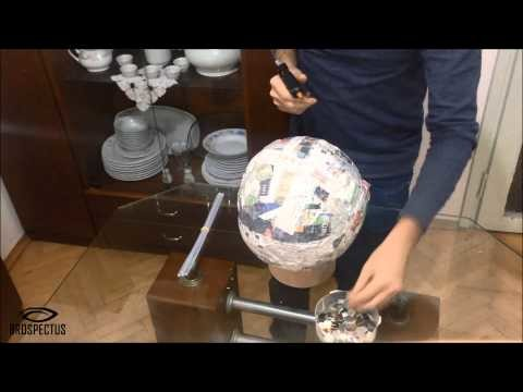 How to make Disco Ball with old CDs