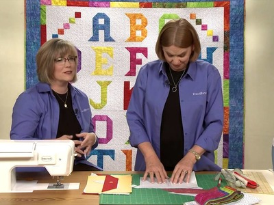 How to Make the Alphabet Quilt