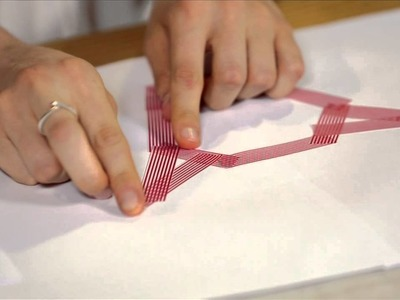 How to make washi tape wall art by Matanna Katz #ExpressoDIY
