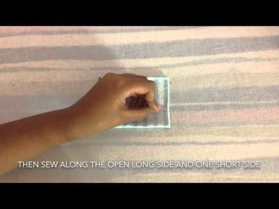 How To Sew Pattern Weights