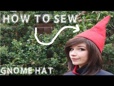How to Sew: Wirt Cosplay (Part 2.2: Hat)