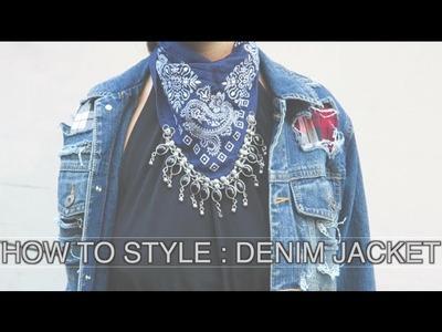 How to Style {Denim Jacket}
