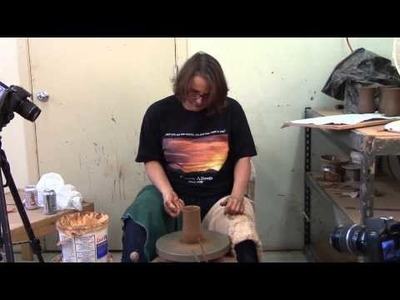 How to Throw a Mug on the Potter's Wheel - How to Make a Pottery Mug
