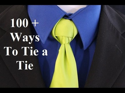 How To Tie a Tie   Viper Knot