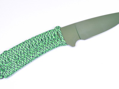 How to Wrap a Knife Handle with Paracord - BoredParacord