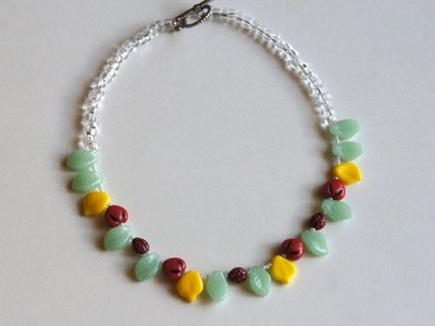 Make a Summer Beaded Necklace - DIY Style - Guidecentral