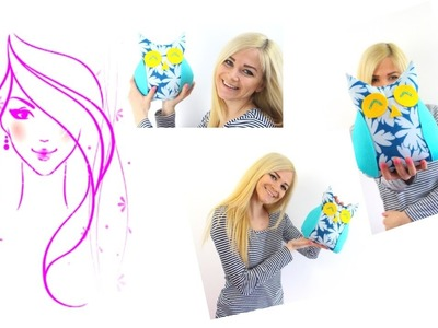 MORENA DIY: HOW TO MAKE ROOM DECOR - Easy owl Pillow!