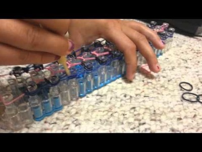 [NEW !!!] How to make the Zippy Chain Rainbow Loom Bracelet - Loom Bands Channel