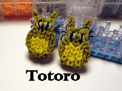 Rainbow Loom My Neighbor Totoro Chart - How to- Character