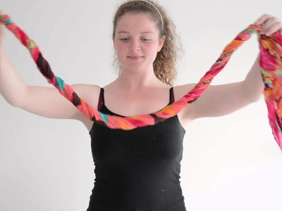 Scarf Room - How to Tie A Scarf: The Twist