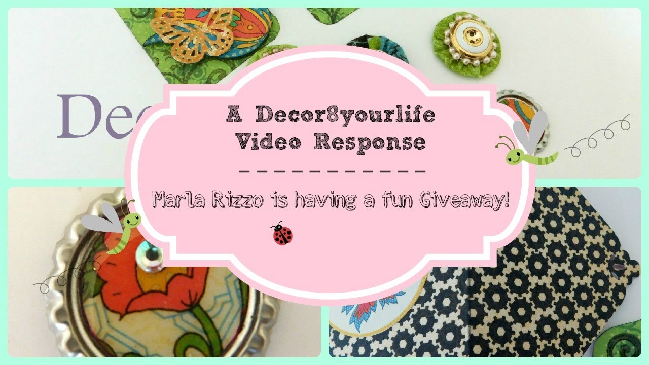 Scrapbook Embellishment Ideas using Graphic 45 for Marla Rizzo's Giveaway