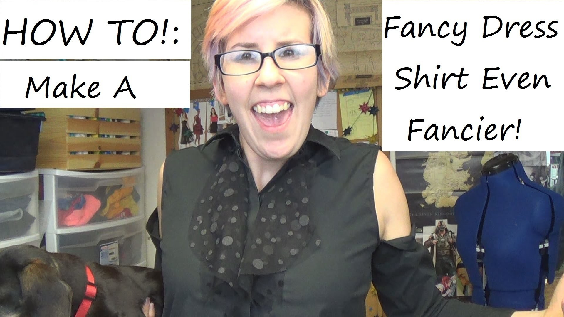 Sewing Nerd! - Tutorial: How to Add Ruffles to a Dress Shirt and Make Cut-Out Shoulders!