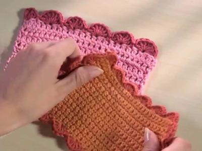 The Art of Crochet - Shell Edging