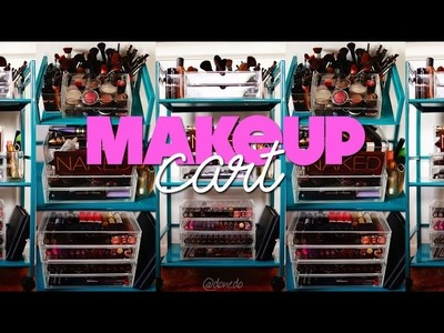 The Makeup Cart: How I Organize My Makeup Collection