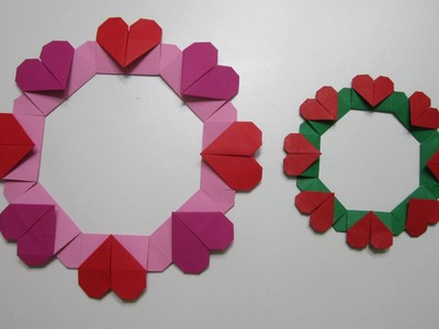 TUTORIAL - How to make a Simple Heart Wreath