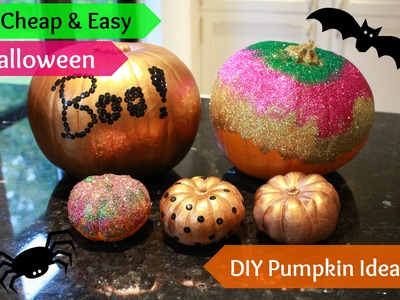 5 Easy Pumpkin Craft Ideas | Halloween DIY | Little Miss Lifestyle |
