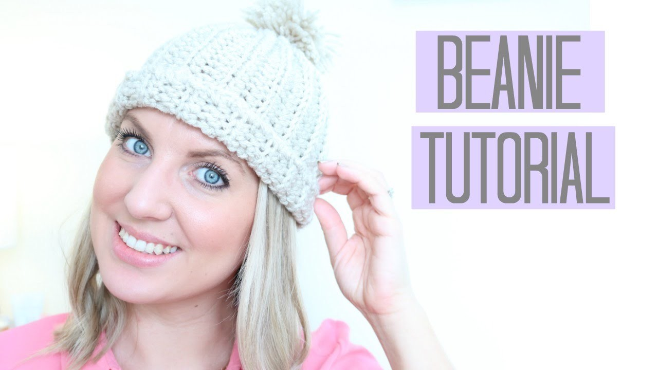 CROCHET: Beanie Hat tutorial | Bella Coco