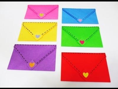 DIY : #109 Cute ORIGAMI Envelopes  ♥