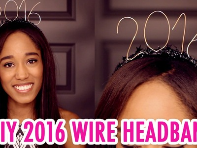 DIY 2016 Wire Headband for New Year's! - HGTV Handmade