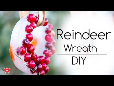 DIY Christmas Wreath for Reindeer | Alison from Millennial Moms