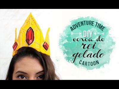 DIY COROA DO REI GELADO ❤ GEEK TUTORIAIS