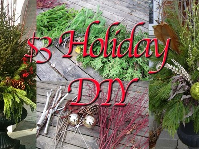 [DIY] How to Make. Decorate a Holiday. Christmas Urn for $3!  | YouTubeAnonymous