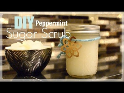 DIY Natural Peppermint Sugar Scrub ♡ NaturallyThriftyMom