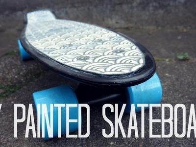DIY Painted skateboard