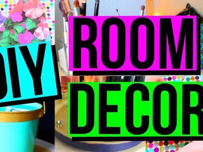 DIY ROOM DECOR + ORGANIZATION | Tumblr Inspired | Cute + Easy | CartneyBreanne