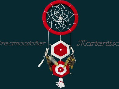 DIY Super Easy DreamCatcher and Martenitsa = Amulets Combo!