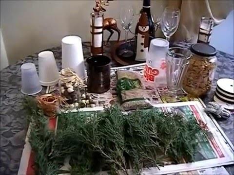 DIY TRASH TO CHRISTMAS TREASURE | CHRISTMAS TREES W.MELANIE SIMMONS