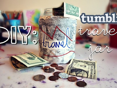 DIY: Tumblr Inspired Travel Jar