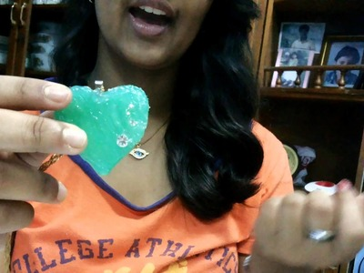 Hot Glue Gun Heart Shaped Lockets ! Saandra's DIY !